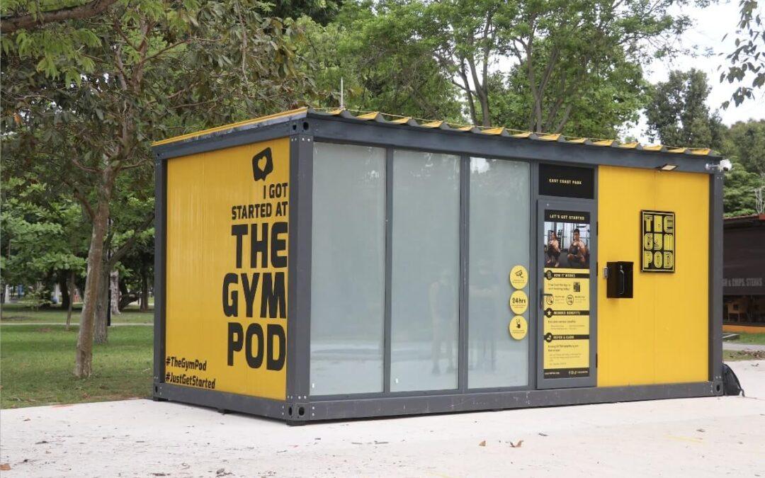 The Gym Pod trailblazes the Tech Race for Fitness Franchises
